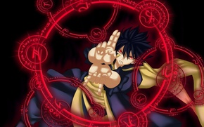 Picture game, magic, devil, anime, fairy, red eyes, evil, asian, cover, manga, japanese, Fairy Tail, oriental, …