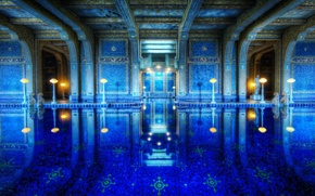 Picture California, Hearst Castle, the Roman pool, Roman Pool