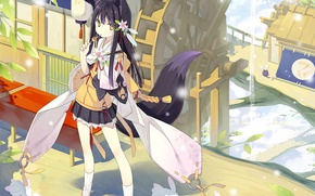 Picture Art, Anime, Original, Animal, Ears.