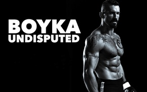 Picture tattoo, fighter, muscle, muscle, tattoo, black and white, Scott Edkins, Scott Adkins, Yuri Boyka, Fighter, …