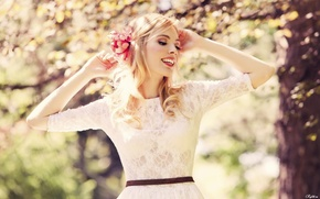 Picture Beautiful, Bra, Smile, Transparent, Belt, girl, Mood, Trees, Moods, slim, smile, Slim, Woman, Trees, Girl, ...