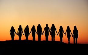 Picture sunset, united, women rights