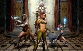 Picture weapons, magic, Legends of Norrath:Inquistor, warriors