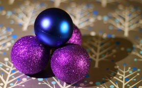 Picture balls, holiday, new year, the scenery, happy new year, christmas decoration, Christmas Wallpaper, christmas color, …