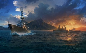 Picture Wargaming Net, WoWS, World of Warships, The World Of Ships