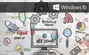 Picture windows, design, web, windows 10, windows10