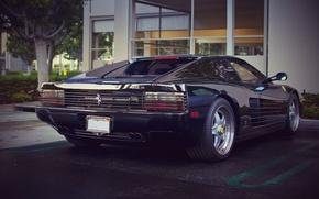 Picture Ferrari, Ferrari, Black, 512, Testarossa, Testarossa