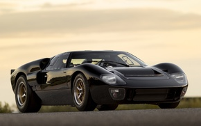 Picture ford, black, gt40, superformance