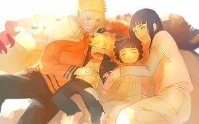 Picture Naruto, art, Hinata, Naruto Uzumaki, Himavari