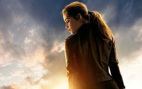 Picture Emilia Clarke, Sarah Connor, Terminator 5, Terminator Genisys, Terminator 5
