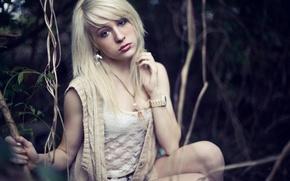 Picture girl, watch, blonde, photographer, girl, photography, photographer, Brian Storey, Chelsea Deen