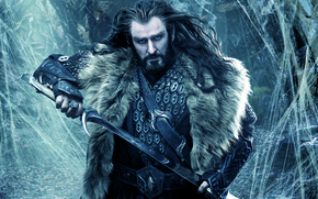 Picture sword, dwarf, The hobbit, The Hobbit, Richard Armitage, dwarf, Thorin, Oakenshield, Thorin Oakenshield, The Hobbit: …