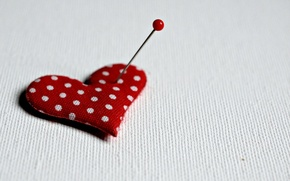 Picture background, heart, pin