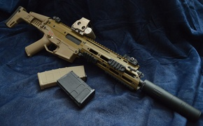 Picture rifle, combat, ACR, automatic, Bushmaster