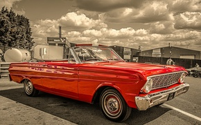 Picture retro, classic, 1964, Ford Falcon