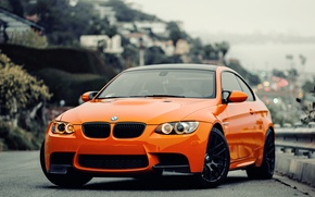 Picture bmw, orange