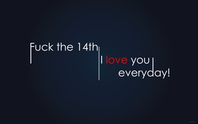 Picture Love, Love, forever, always, 14th