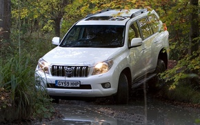 Picture England, Water, Auto, White, Japan, Forest, Machine, 150, Wallpaper, Dirt, Jeep, Japan, Toyota, Car, Auto, …