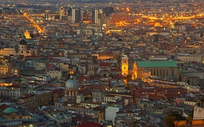 Picture Italy, panorama, Naples
