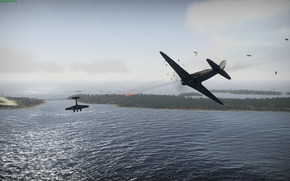 Picture flight, the plane, WarThunder, As-7B