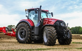 Picture wallpaper, tractor, case, agriculture, farming, optum