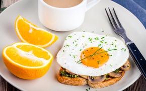 Wallpaper Sandwich, Plug, Food, Orange, Scrambled eggs, Breakfast