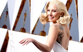 Picture Lady Gaga, Arrivals, 88th Annual Academy Awards