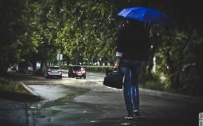 Wallpaper rain, photographer, weather, photography, photographer, Ilya Klad, Ilya Baggage