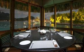 Picture design, style, interior, restaurant, the hotel, Bungalow