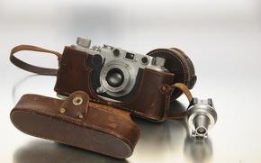 Picture macro, background, camera, Leica IIf