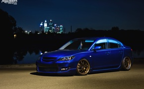 Picture mazda, japan, blue, jdm, tuning, low, mps