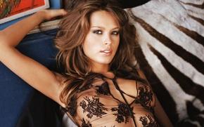 Picture look, model, brunette, Petra Nemcova