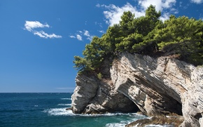 Picture rocks, Croatia, Petrovac na Moru