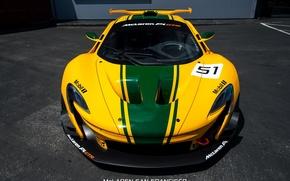 Picture asphalt, McLaren, GTR, stickers, 2015
