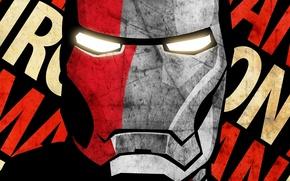 Picture marvel, iron man, comic