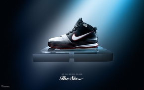 Picture Nike, NBA, LeBrone James, LeBrone shoes, L23, The Six