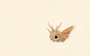 Picture background, mood, baby, art, moth, children's, syd hanson