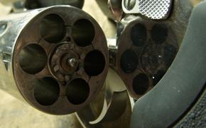 Wallpaper macro, the trigger, drum, gun