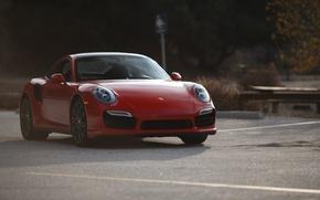Picture 911, Porsche, red, Stoke