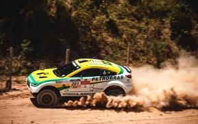 Picture Sand, Auto, Dust, Sport, Desert, Machine, Speed, Race, Mitsubishi, Mitsubishi, Rally, Dakar, Dakar, SUV, Side …