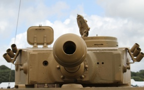 Picture the barrel, tank, Tiger, German, heavy, Pz.Kpfw.VI