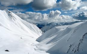 Picture wallpaper, nature, snow