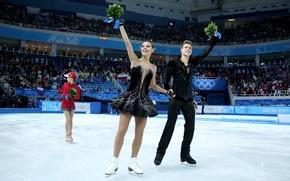 Picture skaters, Sochi 2014, Nikita Katsalapov, The XXII Winter Olympic Games, Yulia Lipnitskaya, Elena Ilinykh, skater, …