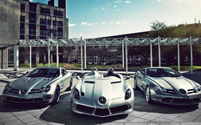 Picture three, Mercedes, sports cars, mercedes slr McLaren