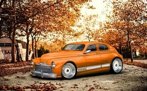 Picture autumn, orange, Victory, virtual tuning