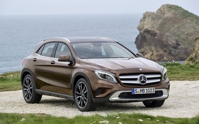 Picture Mercedes, Mercedes, Benz, Brown, Benz, GLA