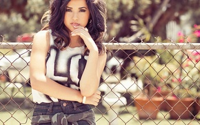 Picture brunette, beautiful, sultry, Becky G