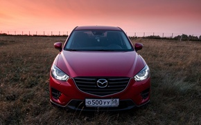 Picture red, Mazda, crossover, suv, CX-5, Kirill Kulikov