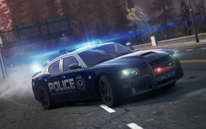 Picture Dodge, SRT8, NFS, 2012, Charger, police, Need for speed, Most wanted