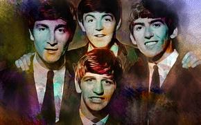 Picture music, The Beatles, George Harrison, John Lennon, Paul McCartney, Ringo Starr